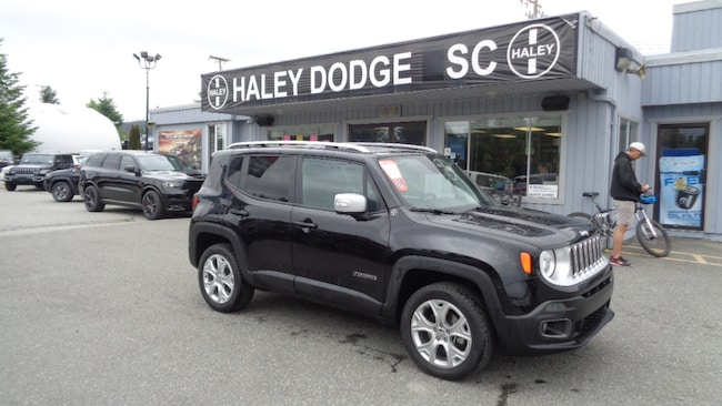 2018 Jeep Renegade LIMITED -- LEATHER -- LOW KMS -- AWD! SUV