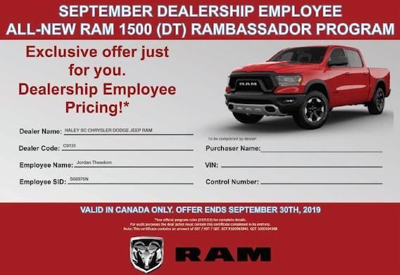 Haley Dodge SC | New Chrysler, Jeep, Dodge, Ram Dealership