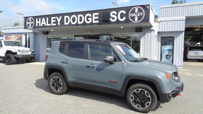 2016 Jeep Renegade TRAILHAWK -- LEATHER -- LOADED-- GREAT LOOKING! SUV