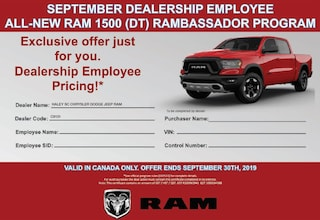 2019 Ram All-New 1500 EMPLOYEE PRICING AVAILABLE -- CALL FOR DETAILS Truck Crew Cab