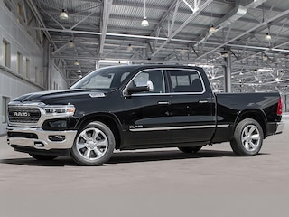 2021 Ram 1500 LIMITED -- BODY COLOR BUMPERS -- TECH PACKAGE! 4x4 Crew Cab 144.5 in. WB
