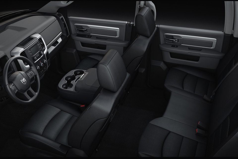 2020 Ram 1500 Classic Interior 5 Seats Top View