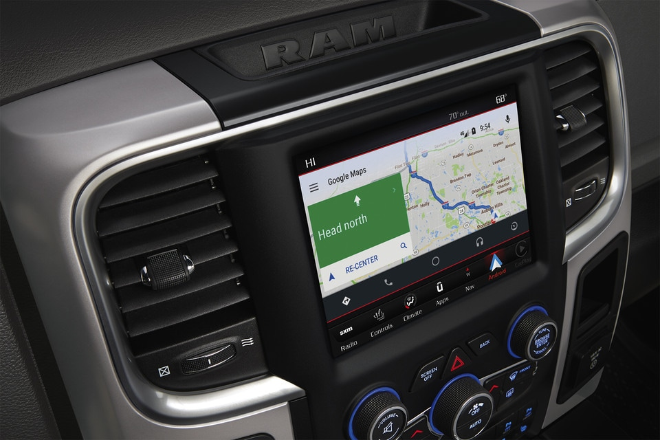 2020 Ram 1500 Classic Interior GPS Screen