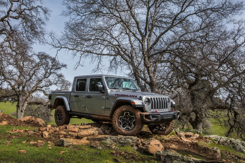 2021 Jeep Gladiator Rubicon On Rocks Off Road