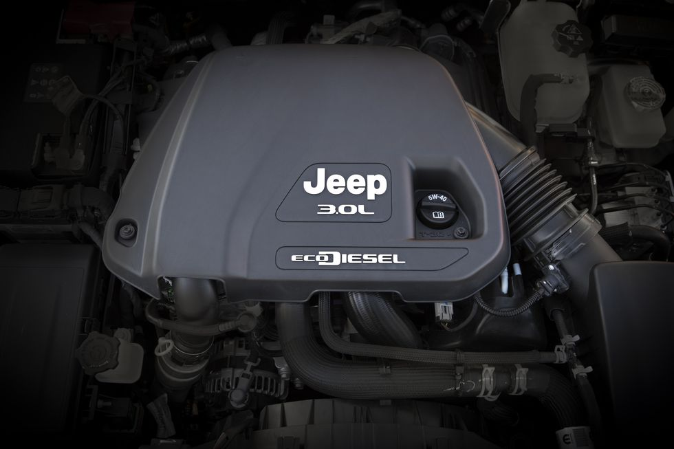 2021 Jeep Gladiator 3L EcoDiesel Engine
