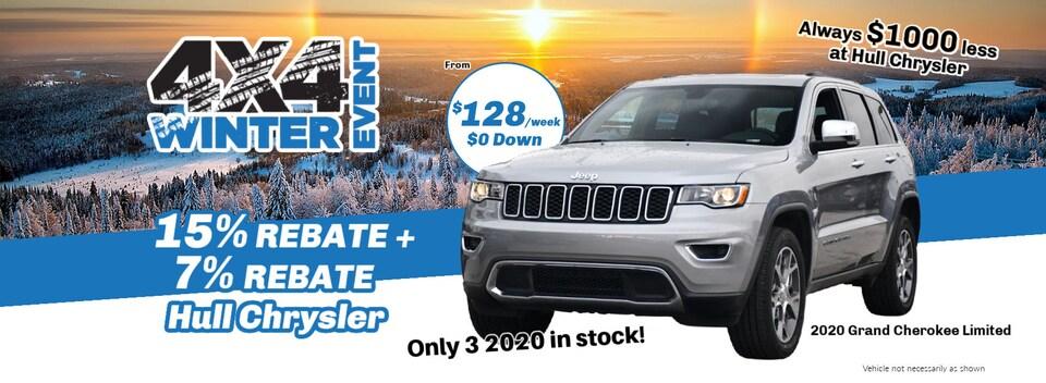 Winter 4x4 2020 Jeep Grand Cherokee