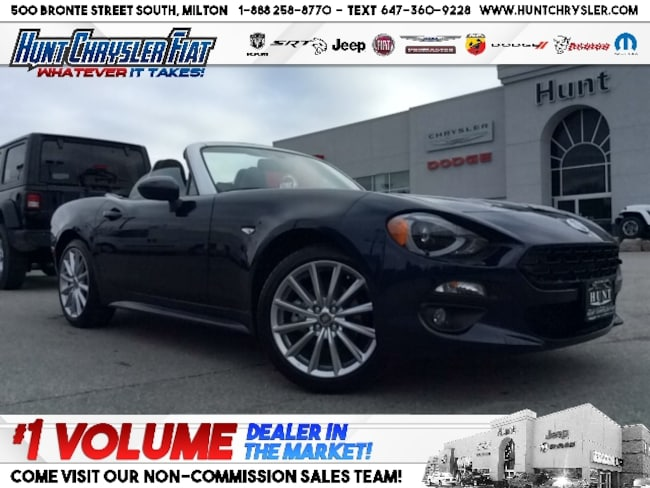 New 2019 FIAT 124 Spider LUSSO | LEATHER | CONV | NAV | VISIBILITY & MORE!! Convertible in Milton, ON