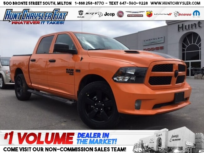 New 2019 Ram 1500 Classic IGNITION ORANGE | 8.4 | HITCH | WHEEL & SOUND & MO Truck Crew Cab in Milton, ON