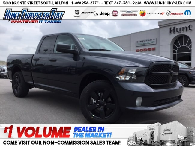New 2019 Ram 1500 Classic NIGHT | LED | HITCH | 4X4 | WHEEL & SOUND!!! Truck Quad Cab in Milton, ON
