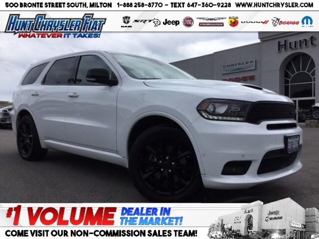 Certified 2018 Dodge Durango RT | BLACKTOP | HEMI | TECH PACKAGE & MORE!!! SUV in Milton, ON