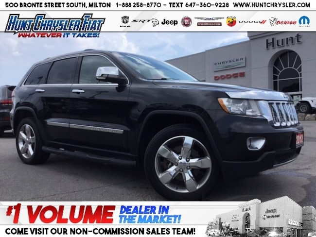 Certified 2012 Jeep Grand Cherokee OVERLAND | HEMI | TOW | NAV | 20s | LOADED!!! SUV in Milton, ON
