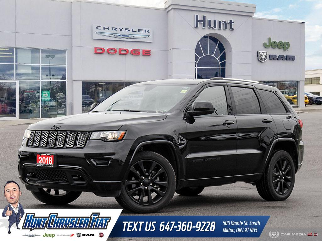 Featured used 2018 Jeep Grand Cherokee for sale in Milton, ON
