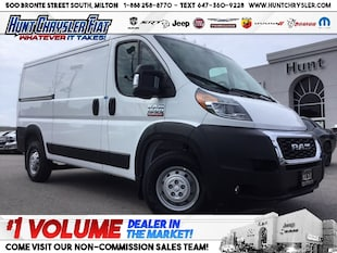 2019 Ram ProMaster 1500 LOW ROOF | 136 | 3 SEATS | NAV | TOW | ASSIST!!! Van Cargo Van