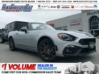 New 2019 FIAT 124 Spider in Milton, ON