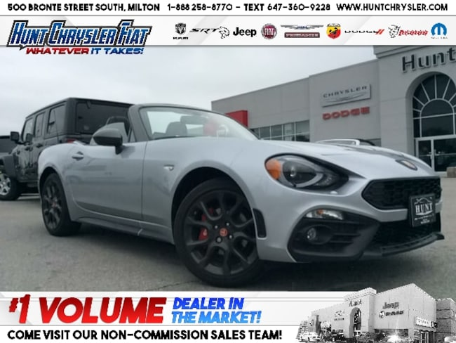 New 2019 FIAT 124 Spider ABARTH | LEATHER | CONV | NAV | VISIBILITY & MORE! Convertible in Milton, ON