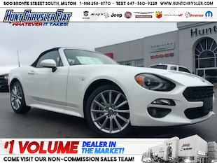 2019 FIAT 124 Spider LUSSO | **CLEAROUT** | PEARL WHITE | LEATHER | NAV Convertible
