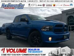 2019 Ram 1500 Classic EXPRESS HYDRO BLUE | WHEEL & SOUND | LED | STEPS!! Truck Crew Cab