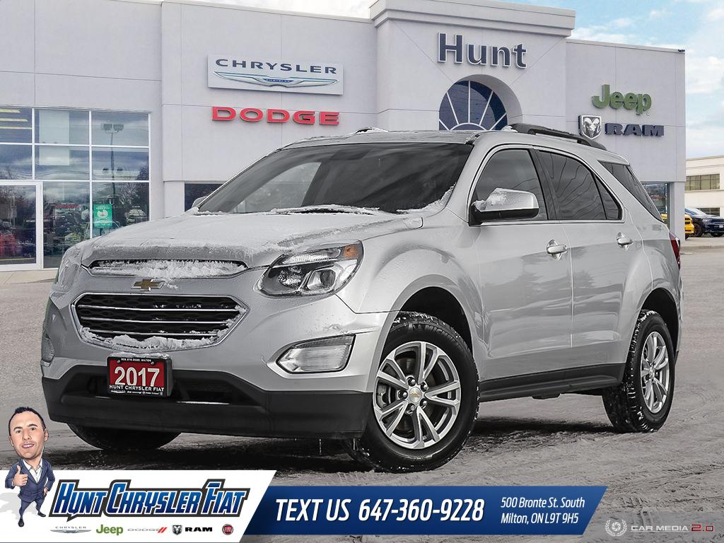 Featured used 2017 Chevrolet Equinox for sale in Milton, ON