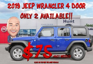 New 2019 Jeep Wrangler UNLIMIED SPORT S | LEASE ME $75 WEEKLY + HST!!! SUV for sale near Toronto