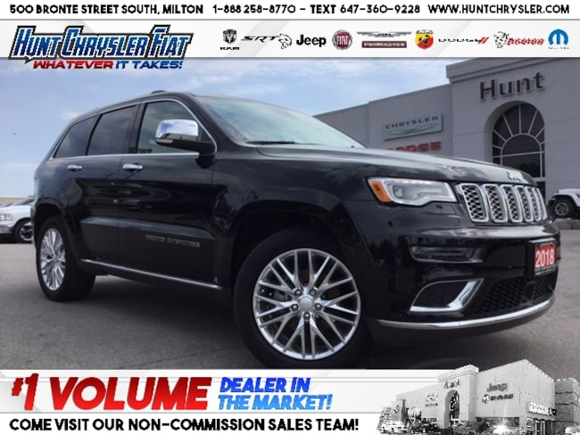 Certified 2018 Jeep Grand Cherokee SUMMIT   PANO ROOF   NAV   19 SPRK & MORE!!! SUV in Milton, ON