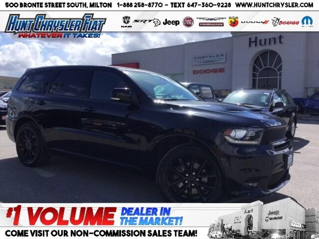 Certified 2018 Dodge Durango R/T | HEMI | BLACKTOP | NAV | SUN | CAM & MORE!!! SUV in Milton, ON