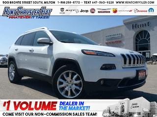 2015 Jeep Cherokee LIMITED | 4X4 | PANO | V6 | LOADED!!! SUV for sale near Toronto