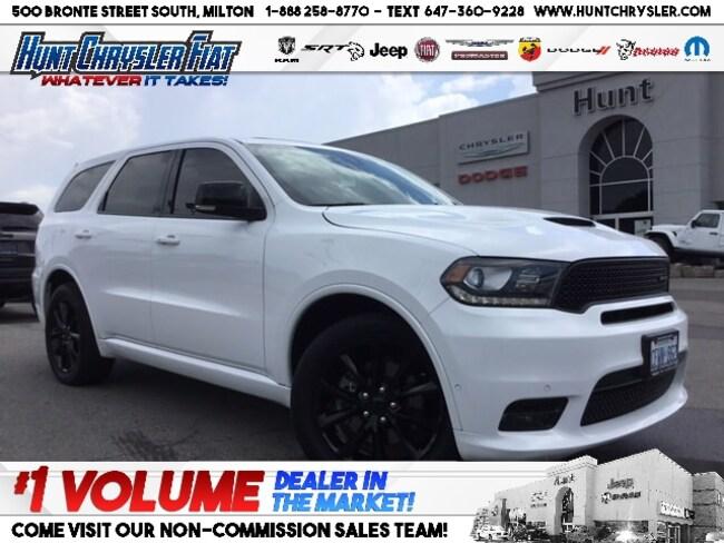 Certified 2018 Dodge Durango R/T | HEMI | BLACKTOP | BUCKETS | SUN & MORE!!! SUV in Milton, ON