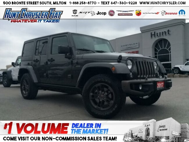 Certified 2017 Jeep Wrangler JK UNLIMITED SAHARA | ALPINE | TOW | HTD STS & MORE!! SUV in Milton, ON