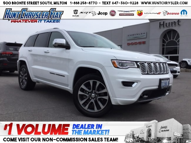 Certified 2018 Jeep Grand Cherokee OVERLAND | DIESEL | BLIND SPOT | LEATHER | PANO &  SUV in Milton, ON