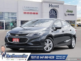 Used 2018 Chevrolet Cruze in Milton, ON