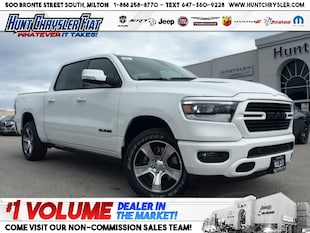 2019 Ram All-New 1500 SPORT | HOOD | PWR BOARDS | 12inch!!! Truck Crew Cab