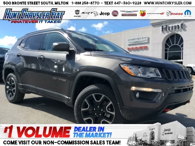 New 2019 Jeep Compass TRAILHAWK | NAV | 4X4 | HTD STS & MORE!!! SUV in Milton, ON