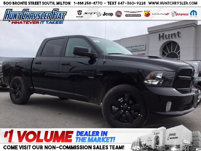 New 2019 Ram 1500 Classic EXPRESS | HEMI | WHEEL & SOUND | LED | HOOD & MORE Truck Crew Cab in Milton, ON