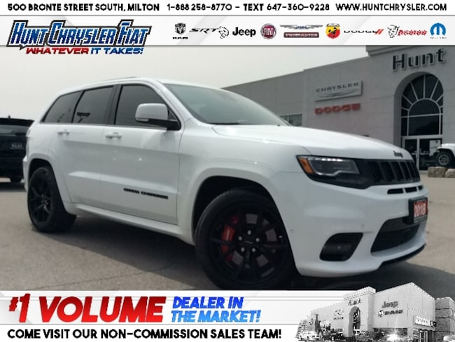 Certified 2018 Jeep Grand Cherokee SRT | TOW | 6.4L | BLACKOUT | LOADED!!! SUV in Milton, ON