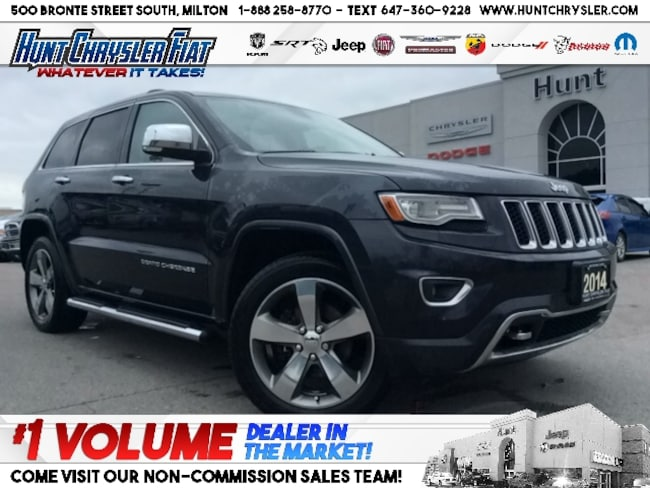 Certified 2014 Jeep Grand Cherokee OVERLAND | NAV | PANO | LOADED!!! SUV in Milton, ON