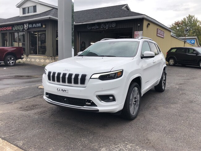 2019 Jeep New Cherokee Overland VUS