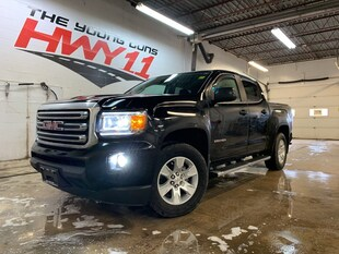 2018 GMC Canyon SLE Crew Cab 4WD - Leather - 2 Sets of Tires Truck