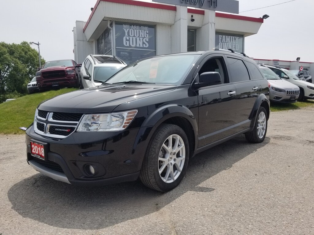 2018 Dodge Journey GT 7 Seater-Leather -DVD-NAV-AWD SUV