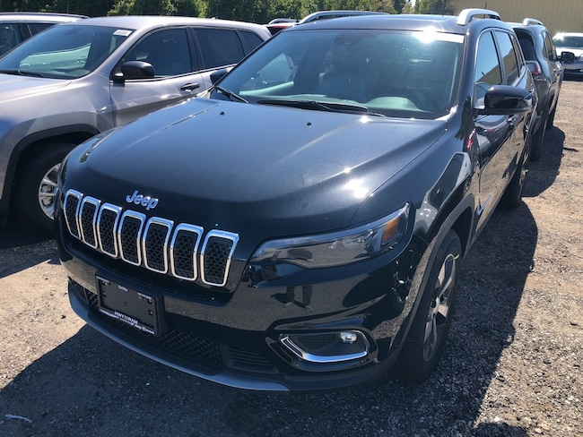2019 Jeep New Cherokee Limited-Safetytec Group-Tech Group-Nav-Pano Roof SUV