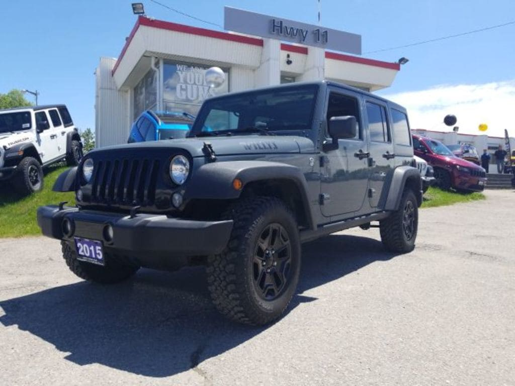 2015 Jeep Wrangler Unlimited Willys Wheeler PKG-Remaining Extended Warranty SUV