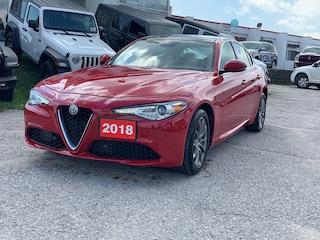 2018 Alfa Romeo Giulia 2018 Alfa Romeo Giulia - AWD Sedan