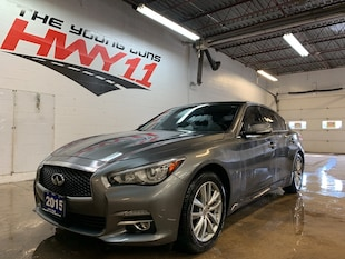 2015 INFINITI Q50 AWD-NAV-Bose-Sunroof-Leather Sedan