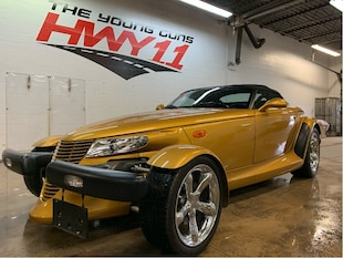 2002 Chrysler Prowler Last Year Production-New Tires-Rare Car Convertible