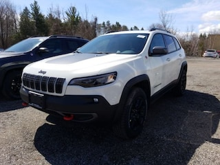 2019 Jeep New Cherokee Trailhawk-Pano Roof-Nav-Safetytec Group-Leather SUV
