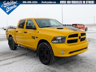 2019 Ram 1500 Classic ST Express - Rumble Bee | Stinger Yellow | Lifted Truck Crew Cab