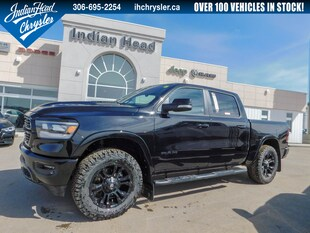 2019 Ram 1500 Laramie 4x4 | LIFTED | Leather | Black Out Crew Cab Truck