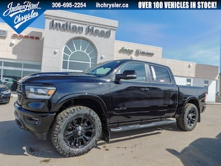 2019 Ram 1500 Laramie 4x4 | LIFTED | Leather | Black Out Truck Crew Cab