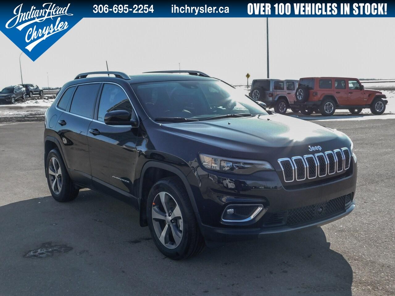 2020 Jeep Cherokee Limited 4x4 | Leather | Nav | Bluetooth VUS
