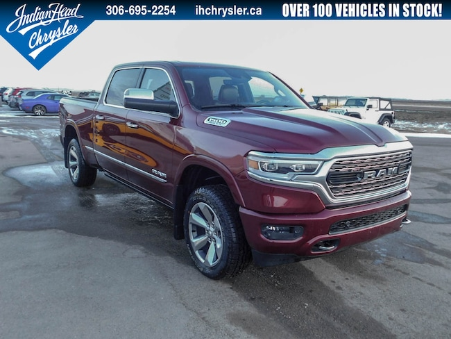 2019 Ram All-New 1500 Limited 4x4 | Leather | Sunroof Crew Cab Truck
