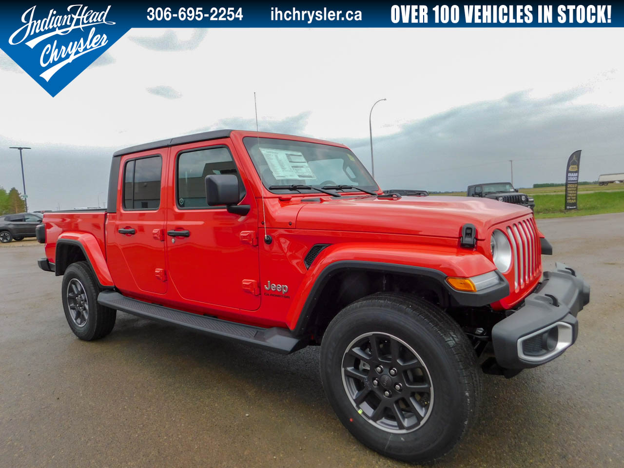 2020 Jeep Gladiator Overland 4x4 | Bluetooth | Leather Camion cabine Crew